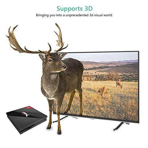 photo Wallpaper of Aoxun-TV Box Android 7.1–aoxun H96Smart TV Box [2018letzte Generation] Amlogic S912W Octa Core, 3GB-