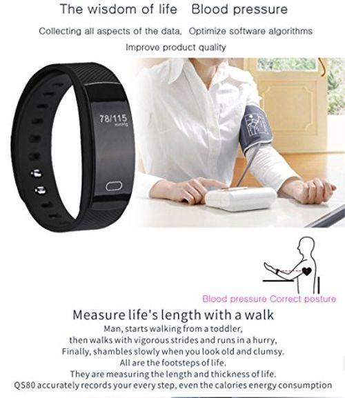 photo Wallpaper of tslmj-Fitness Tracker,IP67 Impermeable Smart Band Pulsera Inteligente Oxígeno Monitor De Pulso Cardiaco De Sangre-naranja