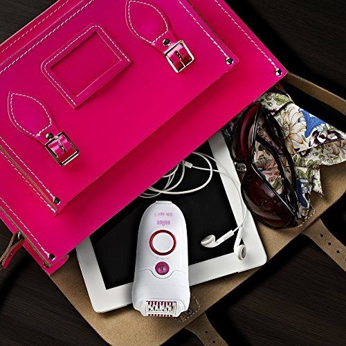 photo Wallpaper of Braun-Braun Silk épil 5   Depiladora Con 3 Accesorios-Blanco Y Rosa