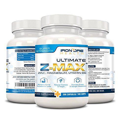 photo Wallpaper of Iron Ore Health-Z MAx – 200 Cápsulas Con Suplemento De Zinc, Magnesio Y Vitamina-