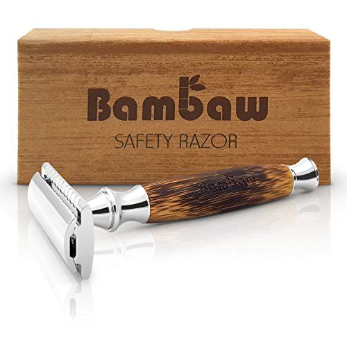 photo Wallpaper of Bambaw-Maquinilla De Afeitar Clásica | Mango De Bambú Natural | Cuchilla De-