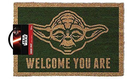photo Wallpaper of Star Wars-Star Wars GP85052 Yoda Fußmatte, Mehrfarbig-Mehrfarbig