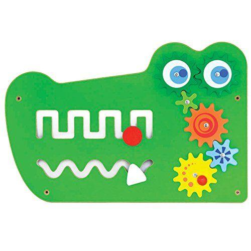 photo Wallpaper of VIGA-Viga Toys   Wandspiel   Krokodil-Grün