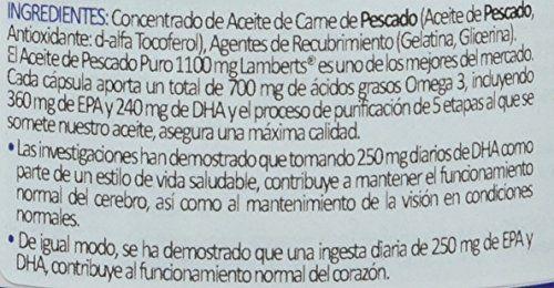 photo Wallpaper of Lamberts-Lamberts Aceite De Pescado 1100 Mg   120 Cápsulas-