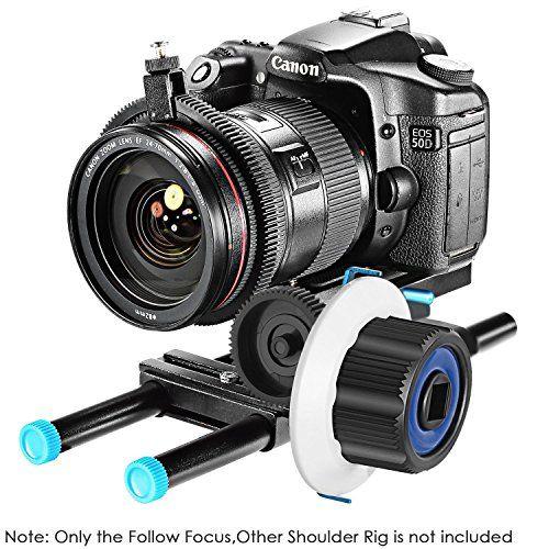 photo Wallpaper of Neewer-Neewer Follow Focus Mit Zahnrad Ring Gürtel Für Canon Nikon Sony Und-blau