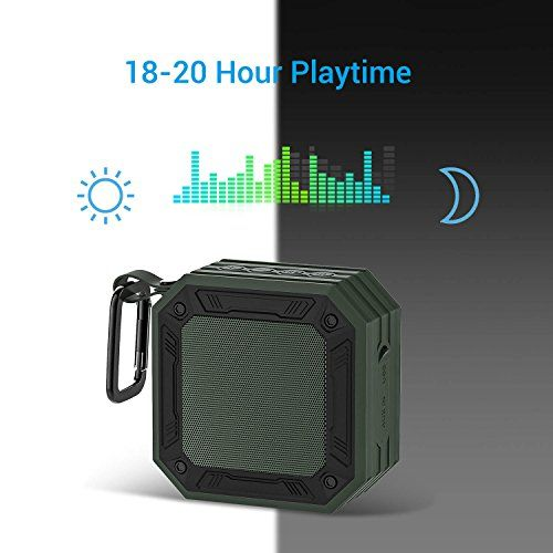 photo Wallpaper of MixcMax-Bluetooth Lautsprecher MixcMax Mobiler Lautsprecher Mit 20 Stunden Akkulaufzeit Und überraschend Kraftvollem-