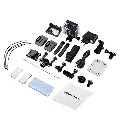 photo Wallpaper of LESHP-LESHP 4K Action Kamera 1080P 12MP Full HD WiFi Sport Kamera 1050 MAh-Action Kamera