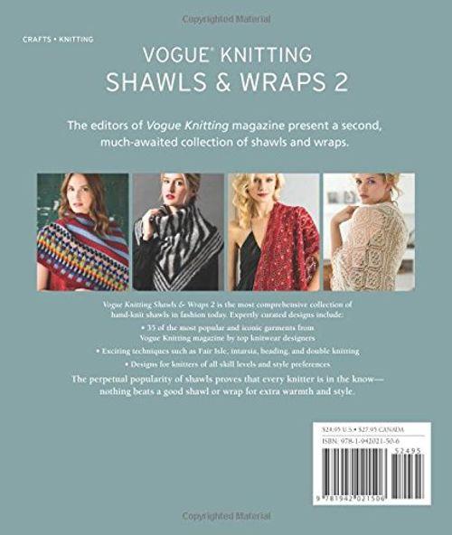 photo Wallpaper of Unbekannt-Vogue(r) Knitting Shawls & Wraps 2 (Vogue Knitting)-