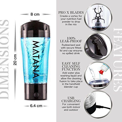 photo Wallpaper of Matana-Batidora Eléctrica Para Bebidas Energéticas Y De Proteína   MATANA-Black