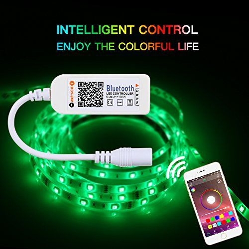 photo Wallpaper of Tomshine-Tomshine Mini Led Bluetooth Kontroller V4.0 RGBW/RGB Kontroller, Led Streifen Licht-Bluetooth Kontroller