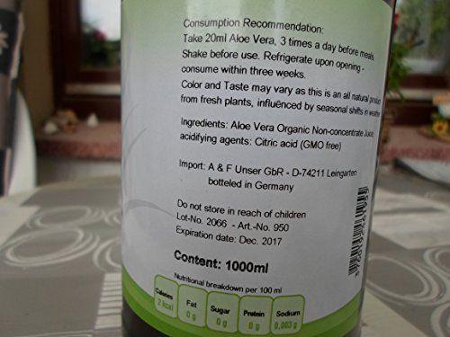 photo Wallpaper of Mother Earth Products-Jugo De Aloe Vera Orgánico, En Dosis De 1200 M/l-