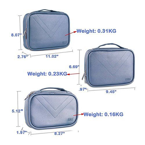 photo Wallpaper of BUBM-Elektronische Tasche, 3PCS Universaltasche Doppelt Elektronische Tasche Für Elektronische Zubehörtasche Für Universal Kabel-Blau