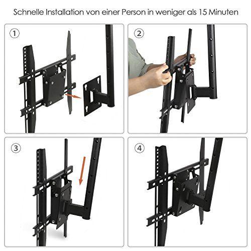 photo Wallpaper of SIMBR-SIMBR TV Deckenhalterung Schwenkbar Neigbar VESA 600x400 An Flachdach Oder Dachschrägen Für LED-