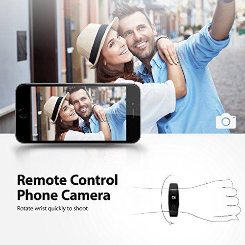 photo Wallpaper of Mpow-Mpow Bluetooth 4,0 Fitness Armbänder Mit Pulsmesser,Smart Fitness Tracker Mit Herzfrequenzmesser, Schrittzähler, Schlaf Monitor,-Schwarz