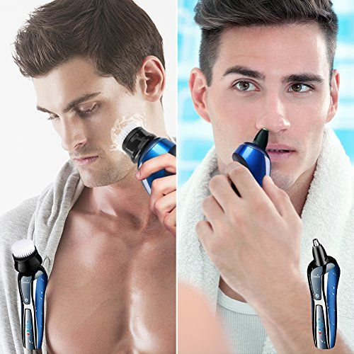 photo Wallpaper of Hatteker-HATTEKER Afeitadora Eléctrica Máquinas De Afeitar Para Hombre Recortador De Barba-