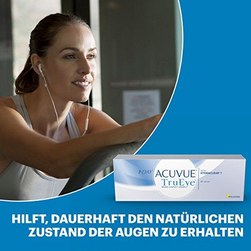 photo Wallpaper of Acuvue-Acuvue 1 Day TruEye Tageslinsen Weich, 30 Stück/BC 8.5 Mm/DIA 14.2/-Farblos