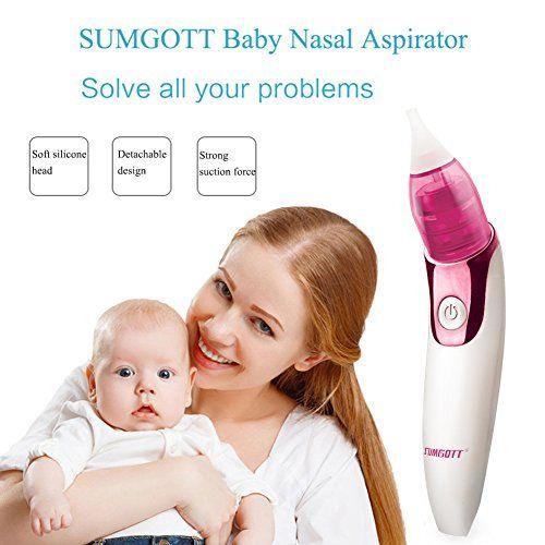 photo Wallpaper of SUMGOTT-Nasensauger Baby SUMGOTT Nasal Aspirator USB Aufladen Nasenschleimentferner Sicherer Und-Weiß