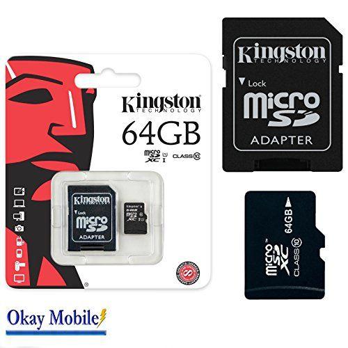 photo Wallpaper of Kingston-Original Kingston MicroSD 64 Gb Speicherkarte Für Microsoft Lumia 550   64GB-