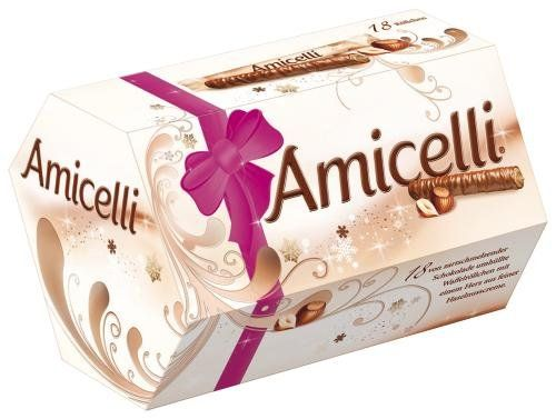 photo Wallpaper of Amicelli-Amicelli, 4 Packungen Je 18 Riegel (4 X 225 G)-