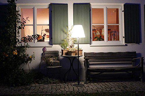 photo Wallpaper of Kiom-Stehleuchte Vida Für Außen & Innen IP65 H: 151,5 Cm-Dunkelgrau