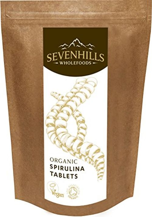 photo Wallpaper of Sevenhills Wholefoods-Sevenhills Wholefoods Espirulina Comprimidos Orgánico 1kg (2000 X 500mg)-