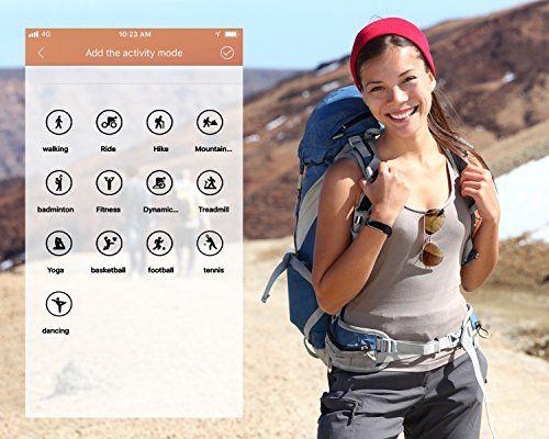 photo Wallpaper of TOOBUR-Fitness Armbanduhr, TOOBUR Wasserdicht Fitness Tracker Mit Herzfrequenz Schrittzähler Schlafmonitor Und Kalorienzähler,-Schwarz