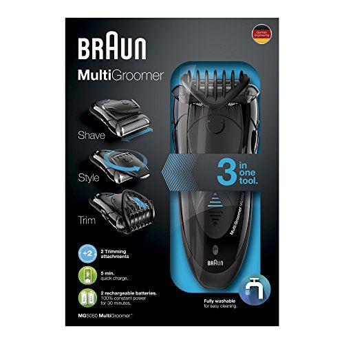 photo Wallpaper of Braun-Braun MG 5050   Afeitadora Eléctrica Multifunción Con Tecnología Wet & Dry-