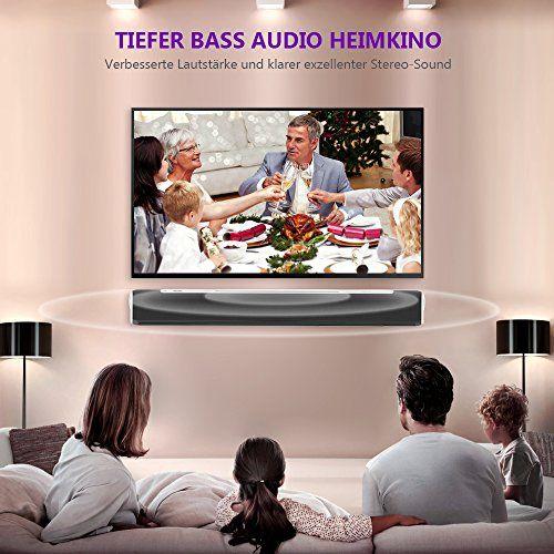 photo Wallpaper of MindKoo-Soundbar Bluetooth, MindKoo 33 Zoll Kräftige Bass Sound Bar Verdrahtete Und Drahtlose-Schwarz