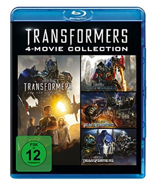 photo Wallpaper of -Transformers 1 4 Collection [Blu Ray]-