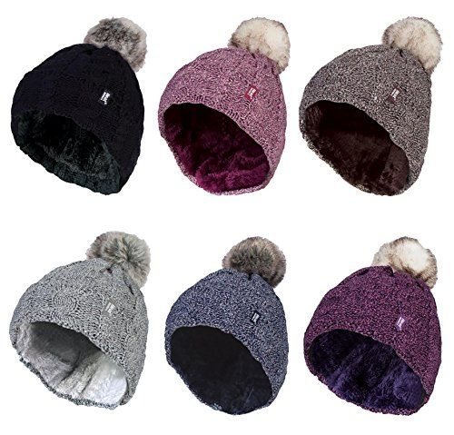 photo Wallpaper of Heat Holders-Heat Holders   Damen Bunt Muster Winter Outdoor Fleece-Cream