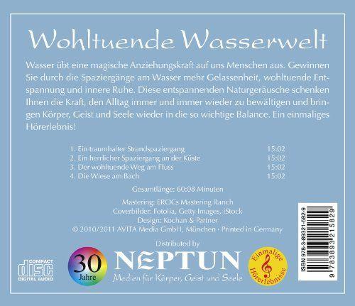 photo Wallpaper of Neptun Media-Wohltuende Wasserwelt, Spaziergänge Am Wasser, Naturgeräusch Wasser, Heilsame Naturklänge Zum Loslassen, Wohlfühlen Und-