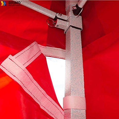 photo Wallpaper of BRIMO ®-BRIMO ® Faltzelt Partyzelt Faltpavillion + Gratis 3 Wände Und 100% WASSERDICHT (3x4,5m,-Rot