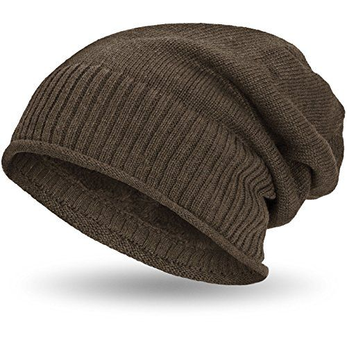 photo Wallpaper of Compagno-Compagno Gefütterte Beanie Wintermütze Mit Weichem Und Warmem Teddy Fleece-Hellbraun