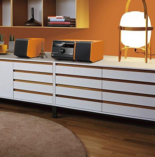 photo Wallpaper of Yamaha-Yamaha Elektronik Europa MCR B020 Mikro Komponentensystem Orange-orange