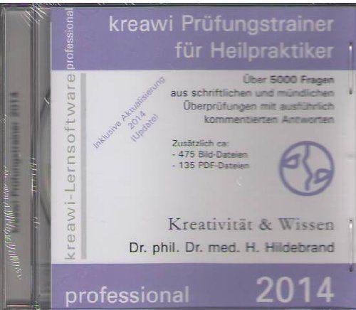 photo Wallpaper of -Kreawi Prüfungstrainer Für Heilpraktiker 2014, 1 CD ROM Über 5000 Fragen Aus Schriftlichen-