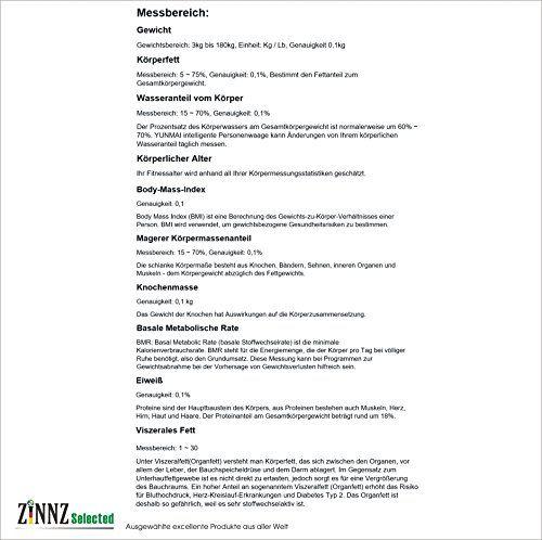 photo Wallpaper of ZINNZ-Yunmai Mini 2yunmai Balance Smart Báscula Báscula De Análisis Corporal De Grasa Corporal-blanco