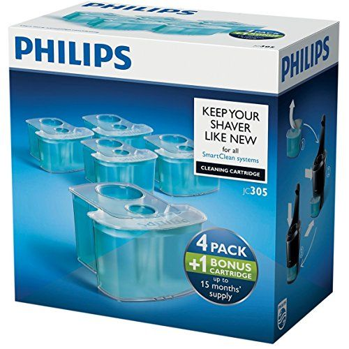 photo Wallpaper of Philips-Philips JC305   Cartuchos De Limpieza (4+1)-Azul