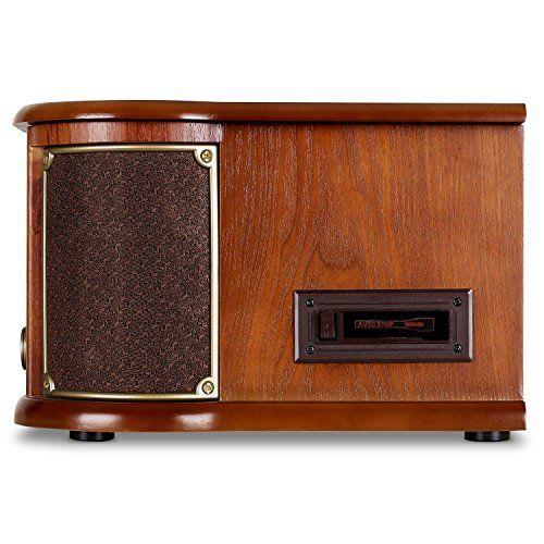 photo Wallpaper of auna-Auna Belle Epoque 1908 • Retroanlage • Stereoanlage • Plattenspieler • Bluetooth-braun mit Bluetooth