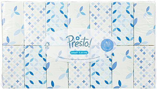 photo Wallpaper of Presto!-Amazon Marke: Presto! 4 Lagige Papiertaschentücher, 168er Pack (168 X-