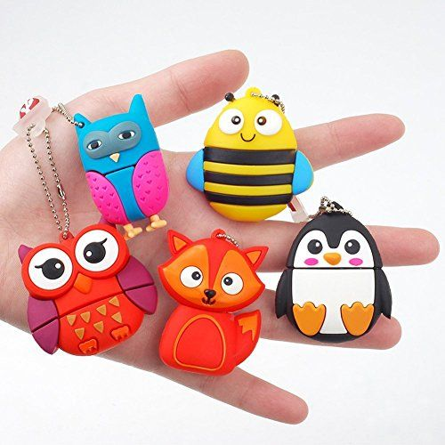 photo Wallpaper of LEIZHAN-LEIZHAN 8GB USB Stick 2.0 Silikon Nette Kleine Tiere Neuheit Memory Stick Kinder Geschenk-Tier