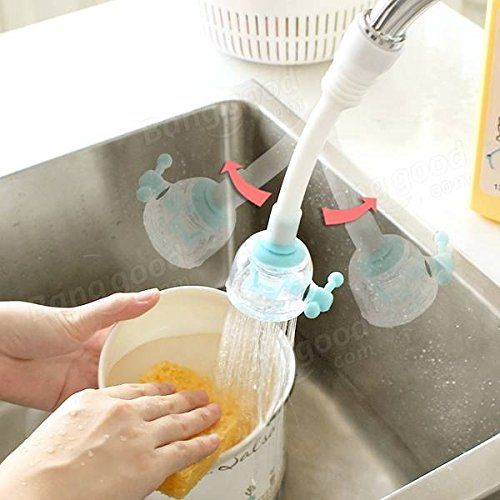photo Wallpaper of Calli Jewels-Calli Drehbare Anti Splash Wasser Sparende Geräte Wasser Düse Ventil Küchenarmatur-