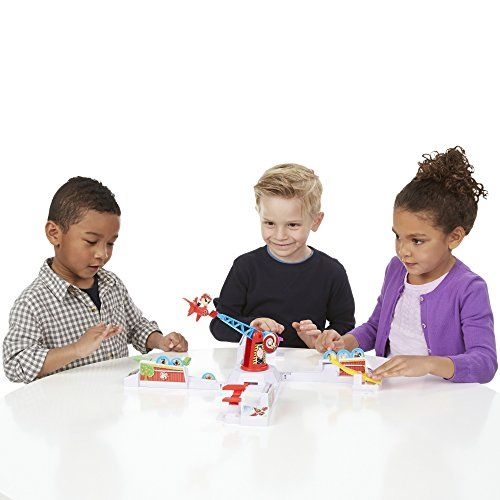 photo Wallpaper of Hasbro-Looping Louie Kinderspiel, Lustiges 3D Spiel, Partyspiel Für Kindergeburtstage, Unterhaltsames Gesellschafts -