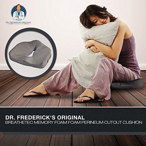photo Wallpaper of Dr. Frederick's Original-Dr. Frederick's Original BreatheTEC Cojín Viscolástico De Posparto, Perineal Y Próstata-