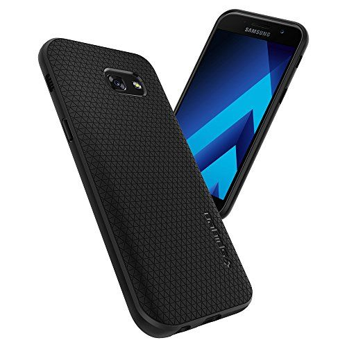 photo Wallpaper of Spigen-Samsung Galaxy A5 2017 Hülle, Spigen® [Liquid Air] Soft Flex-Einfarbig