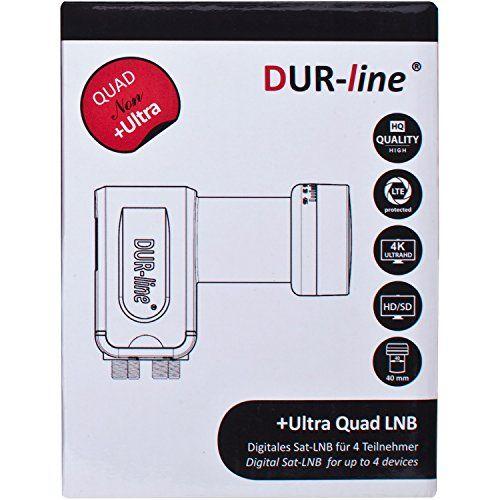 photo Wallpaper of DUR-line-DUR Line 4 Teilnehmer Set   Qualitäts Alu Sat Anlage   Select-Rot