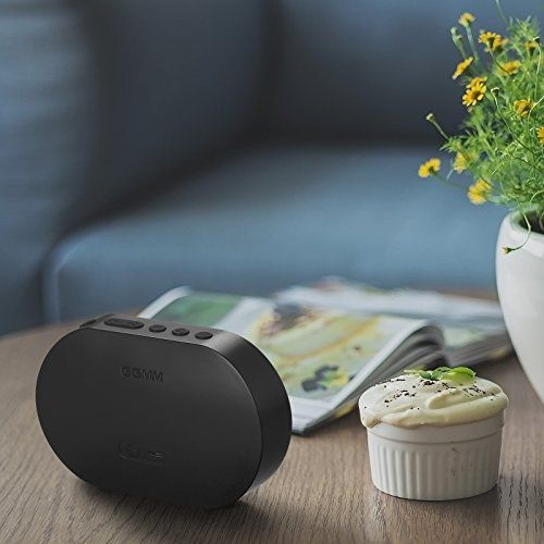 photo Wallpaper of GGMM-GGMM Tragbarer Bluetooth Lautsprecher 4.2 Wi Fi Multiroom Speaker Mit Amazon-schwarz