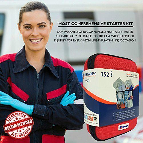 photo Wallpaper of Preparify-Botiquín Primeros Auxilios Con 150 Artículos Preparify – Para Emergencias En Casa Trabajo-