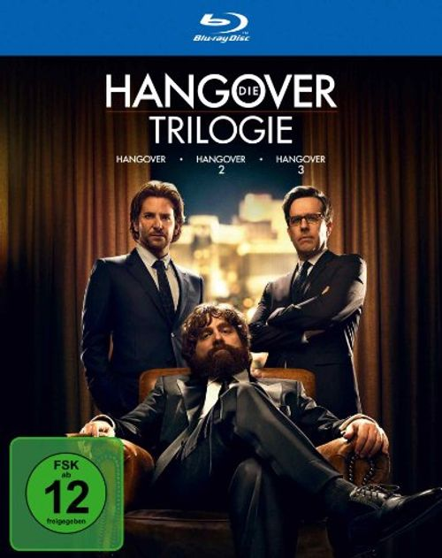 photo Wallpaper of Warner Bros. Entertainment GmbH-Hangover Trilogie [Blu Ray]-