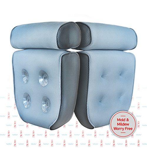 photo Wallpaper of Blue Coast Collection-Almohada Premium Para Bañera. El Bonnieu Bath Pillow Es Un Cojín Reposacabezas Para-Azul