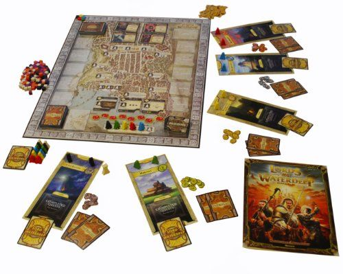 photo Wallpaper of Wizards Of The Coast-Wizards Of The Coast 388510000   Lords Of Waterdeep, Brettspiel-Farb